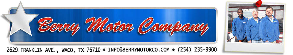 Welcome to Berry Motor Company!